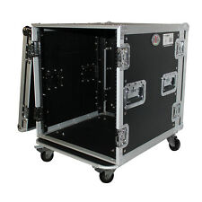 "ProX T-12RSS 12U Space Amp Rack Durable Rugged Road Hard Case 19"" w/ Casters"