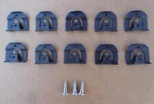 10 FRONT/REAR WINDOW/GLASS MOLDING CLIPS-64-70 GM CHEVELLE CHEVY CORVAIR 83-85LX