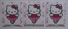 PK 3 BALLET HELLO KITTY TOPPERS FOR CARDS & CRAFTS