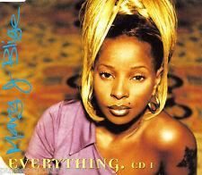 MARY J BLIGE - Everything (UK 4 Track CD Single Part 1)