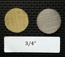 "3/4"" brass tobacco pipe screen filters - 10 count - high quality - 0.75 inch"
