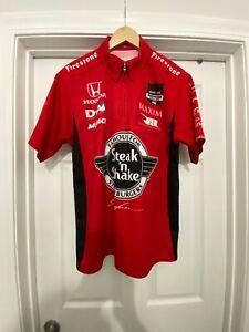 Graham Rahal Steak `N Shake IndyCar Pit Crew Shirt