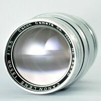 [Exc+++++] CANON 135mm f/3.5 Leica Screw Mount Lens L39 LTM from JAPAN