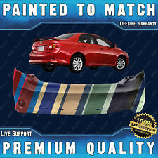 NEW Painted To Match Rear Bumper for 2009 2010 Toyota Corolla S & XRS w/ Spoiler