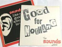 THE SOUNDS ALBUM Vol 1 + 2 / 1977 Pop / Rock CBS Promo Compilation VG+/VG+