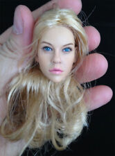 1:6 Head Sculpt KUMIK 15-12 Hot Sideshow Toys TTL Enterbay Custom female girl