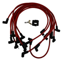 Spark Plug Wires Ultra 40 Red Set Big Block Chevy BBC 454 502 HEI  73689