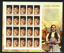 U.S. SCOTT #4077  -  JUDY GARLAND - LEGENDS OF HOLLYWOOD - MNH SHEET SCV: $24.00