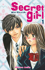 Collection complète de mangas Secret Girl en français - Tomes 1 à 5 - Asuka