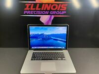 APPLE MACBOOK PRO 15 * QUAD TURBO i7 *  8GB RAM 1TB * PRE-RETINA * WARRANTY
