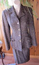 VTG Suit Jacket/Skirt INSANELY BEAUTIFUL ~ PETROVITCH and ROBINSON PARIS~SZ 4-6