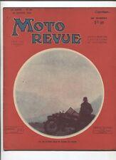 Moto Revue N°567  ; 20  janvier 1934  : mise au point d'un moteur 2 temps