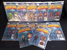 Marvel Comics Secret Wars Action Figure Variant Covers- 12 comics in total!