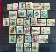 LABUAN  1892-1902 31 used stamps with Jubilee, Postage due and other good values