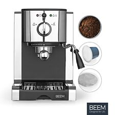 Espressomaschine Siebträger Siebträgermaschine Kapsel Espresso Milchschaumdüse