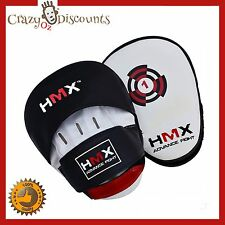 Boxing Mitts Focus Pads Gel Curved Punching Kickboxing Cardio UFC MMA Gym Train