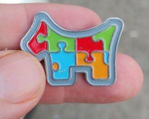 Scotty Cameron 2014 Club Member - Multi Color Puzzle Dog Ball Marker