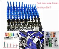 FOR YAMAHA XJR400 XJR1200 XJR1300 XJ600 XJ6 M  Full Fairing Bolt Kit Nuts Screws