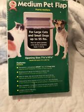 Ideal Products Medium Pet Flap with 4-way Lock Up to 25 lbs.