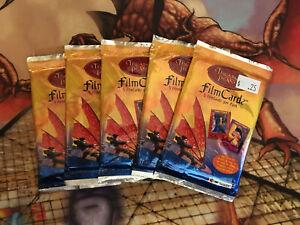 2002 Artbox Treasure Planet Filmcardz Trading Card Pack x5 Packs