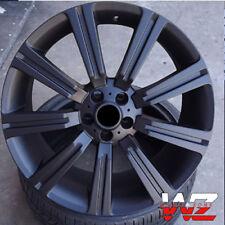 "20"" Stormer Style Wheels Satin Black Fits Range Rover Land Rover HSE Sport LR3"