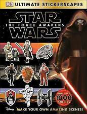 Star WarsTM: The Force Awakens Ultimate Stickerscapes, DK, Very Good Book