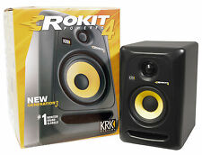 "KRK RP4G3 RP4-G3 Rokit Powered 4"" Inch Studio Reference Monitor Active Speaker"