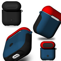 For Apple Airpods Silicone Case Soft Shockproof Earphone Charger Protective Skin