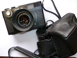 Leica Leitz CL Film Camera w/ Leitz 40mm f/2.0 Summicron-C - Germany - Excellent