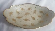 Brass enameled dish made in India