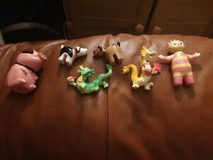 Tombliboo Unn / McDonald's  Dragons X2 Dogies X2 And Pig