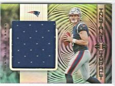 Jarrett Stidham Patriots 2019 Panini Illusions NFL Jumbo Rookie Jersey Relic RC