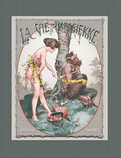 Faune With Nude French Centaur Satyr La Vie Parisienne 8x10 Herouard Art print