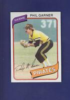 Phil Garner 1980 TOPPS Baseball #118 (NM+) Pittsburgh Pirates