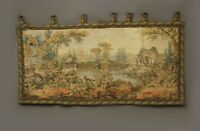 Antique French Aubusson Style Wall Hanging Tapestry |160 X 88cm | Vintage Style