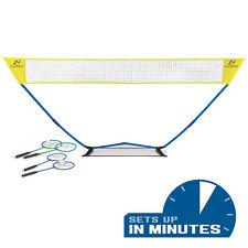 Easy Setup Badminton Set Pro Backyard Game Portable Net Bag For Storage Sports