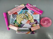 More details for best bitches pink girl smokers rolling tray gift set grinder papers roach j tube