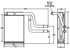 HVAC Heater Core fits 1996-2002 Mercury Mystique Cougar  ACDELCO PROFESSIONAL