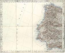Antique maps, Iberian Peninsular