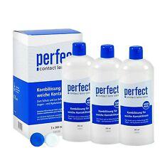 Perfect Aqua Plus Kombilösung Vorteilspack (3x360ml)  All-in-One Lösung von MPG&