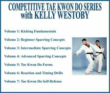 Competitive Tae Kwon Do Instructional Series (7) Dvd Set sparring kicking tkd