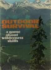 OUTDOOR SURVIVAL A GAME ABOUT WILDERNESS SKILLS EXC! COUNTRS Avalon Hill Box Set