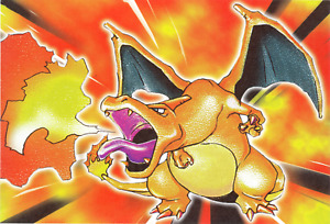 Pokemon Card Charizard PLAYMAT CUSTOM PLAY MAT 4/102 Base set