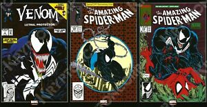 MARVEL Mexico AMAZING SPIDER-MAN #300 1ST FULL APPEARANCE OF VENOM FOIL Reprint