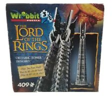 Orthanc Tower / Isengard 3D Puzzle (409 Pieces) Wrebbit - SEALED LOTR Lord Rings
