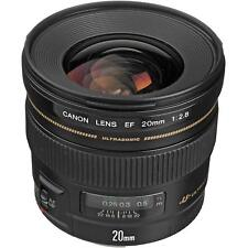Canon EF 20mm F/2.8 USM lens with Hoya UV filter (in original box)