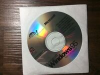 Microsoft Windows 95 With USB Support CD Software Operating System w/ CD only