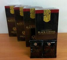 4 Scatole Organo Gold Black Coffee Caffè Nero Ganoderma Lucidum
