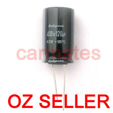 Capacitor 120uf 400V 105°C 26X26mm for Dell HP LCD Monitor Screen Repair Rubycon