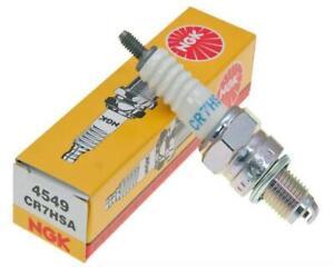 1pc NGK 4549 Standard CR7HSA Motorcycle Spark Plug